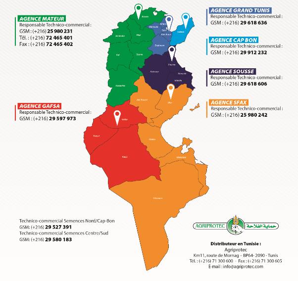 Agences AGRIPROTEC